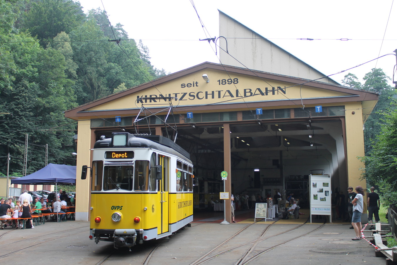 Kirnitzschtalbahn stra enbahn for Depot bad